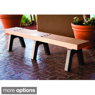 Eagle One Commercial-grade Greenwood Modern 7-foot Mall Bench