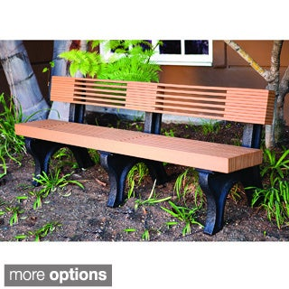 Eagle One Commercial-grade Greenwood Modern 7-foot High Back Bench