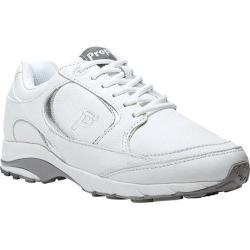 Women's Propet Journey Leather White/Silver