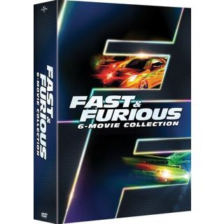 Fast & Furious 6-Movie Collection (DVD)