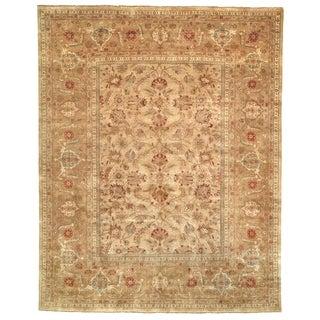 Safavieh Hand-knotted Farahan Sarouk Ivory/ Gold Wool Rug (6' x 9')