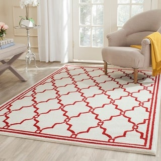 Safavieh Amherst Ivory/ Red Rug (9' x 12')