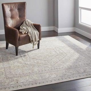 Safavieh Adirondack Ivory/ Silver Rug (8' Square)