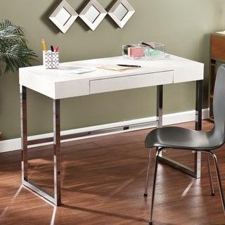 Upton Home Vivica Cream Reptile Contemporary Desk