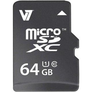 V7 VAMSDX64GUHS1R-2N 64 GB microSD Extended Capacity (microSDXC)