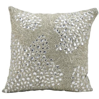 Mina Victory Crystalline Luminescence 16-inch Square Throw Pillow