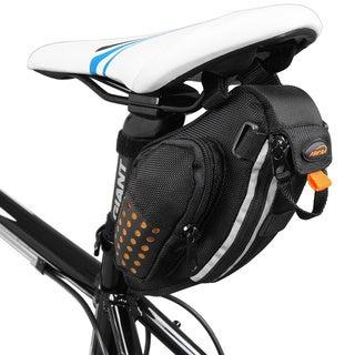 Ibera IB-SB3 Water Resistant Bike Strap-On Saddle Seat Pack Bag