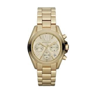 Michael Kors Women's MK5798 'Bradshaw' Goldtone Stainless Steel Watch
