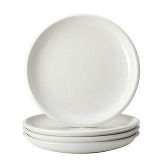 Rachael Ray Dinnerware Rise White Stoneware 4-piece Salad Plate Set