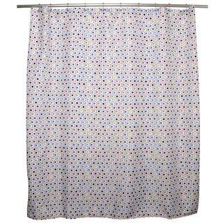 Elodie Dots/ Hexagons Shower Curtain