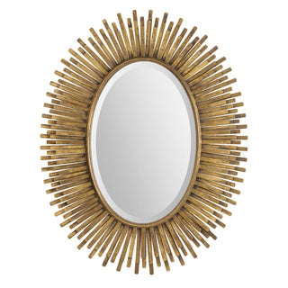 Renwil Sparta Antique Gold Leaf Mirror