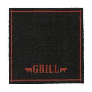 "Grill-coir with Vinyl Backing Doormat (46""x 46"")"