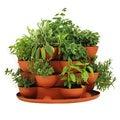Stack & Grow Stackable Terracotta Garden Planter