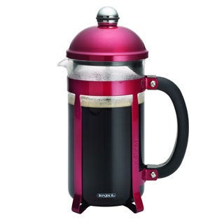 BonJour Coffee and Tea Maximus 8-cup Candy Apple Red French Press