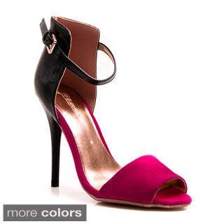 Gomax Women's 'Calantha 01' Open-toe Ankle Strap Sandals