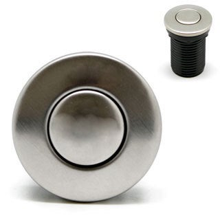 Geyser Brushed Nickel Air Switch Button