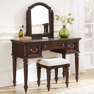 Colonial Classic Vanity and Bench