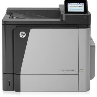 HP LaserJet M651n Laser Printer - Color - 1200 x 1200 dpi Print - Pla
