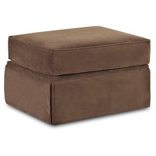 Made To Order Wyatt Chocolate Brown Ottoman