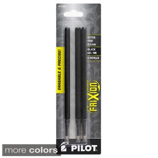 Pilot Frixion Point Gel Ink Pen Refills (Pack of 3)