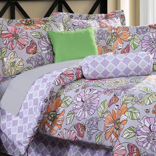 Eliza 8-piece Bed in a Bag with Sheet Set