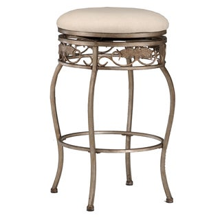 Bordeaux Backless Bronze Pewter Stool