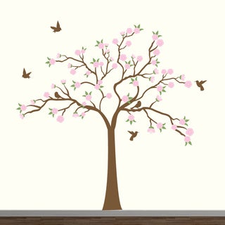 Cherry Blossom Tree Decal Stickers
