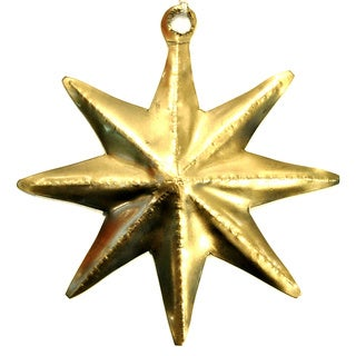Large Star Handmade Ornament (India)