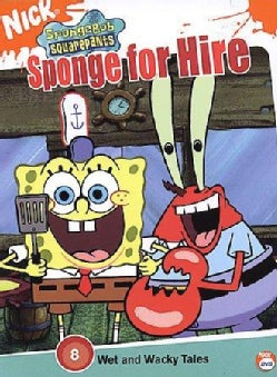 Spongebob Squarepants: Sponge for Hire (DVD)