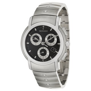 Movado Men's 'Movado SL' Stainless Steel Chronograph Watch