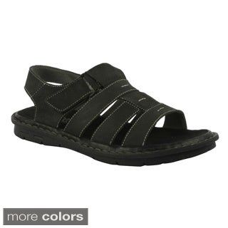 J's Awake Men's 'Diego-05' Casual Comfort Strap Sandals