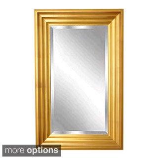 American Made Rayne Gold Steps Wall Mirror