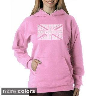 Los Angeles Pop Art Women's Union Jack Sweatshirt