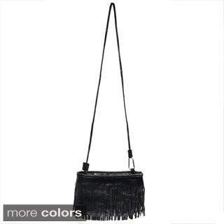 Oasis 'Aloma' Tassel Fringe Crossbody Bag