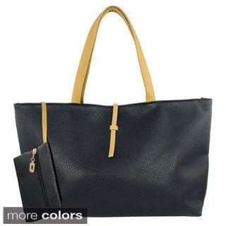 Oasis Handbag 'Karen' Zip-top Messenger Tote