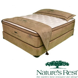 Natures Rest Virtue Luxury Plush EuroTop Full-size Latex Mattress Set
