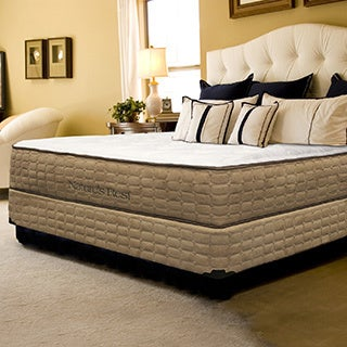 Natures Rest Unity Luxury Plush Queen-size Latex Mattress Set