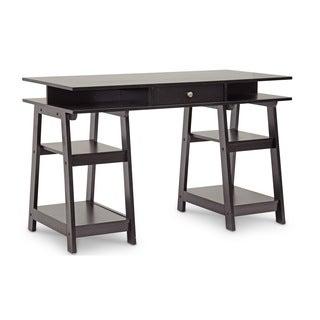 Baxton Studio Trenton Dark Brown Modern Desk