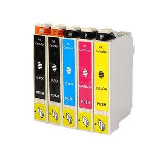 Replacement 200 T200XL T200120 T200220 T200320 T200420 Epson XP-200 XP-300 XP-400 WF-2520 WF-2530 2540 Ink Cartridge (Pack of 5)