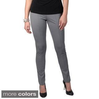 Journee Collection Women's Elastic Waistband Jegging Pants