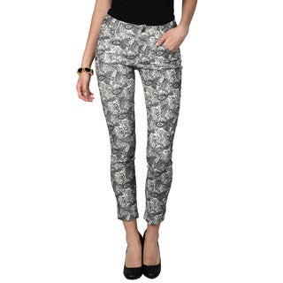 Hailey Jeans Co. Junior's Printed Skinny Pants