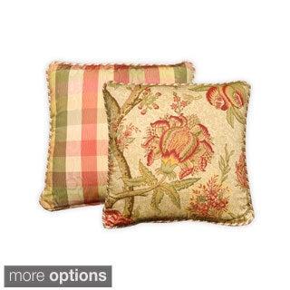 Summerton Floral Cotton Throw Pillow
