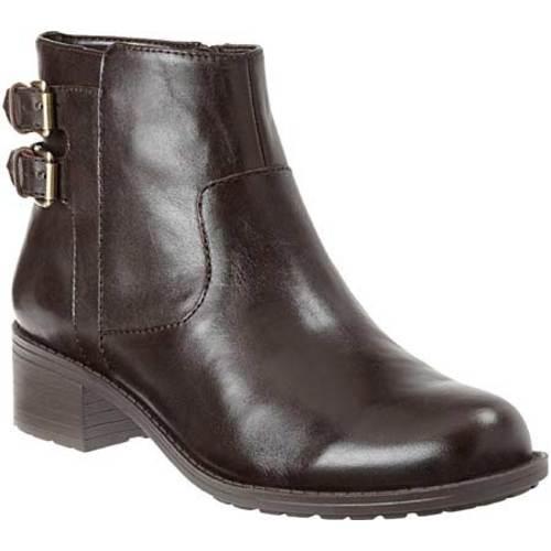 Women's Easy Spirit Linnton Dark Brown Leather