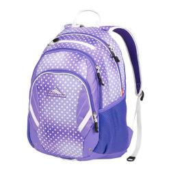High Sierra Neenah Sprinkle Dots/Lavender/White Tablet Backpack