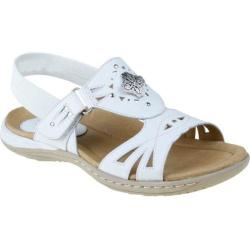 Women's Earth Guava White Full Grain Leather