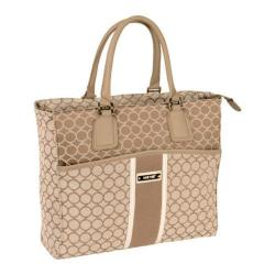 Women's Nine West Sign Me Up 17in Tote Bag Driftwood/Cream