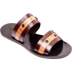 Men's Giovanni Marquez 91981 Vitello Sandal Marrone Leather
