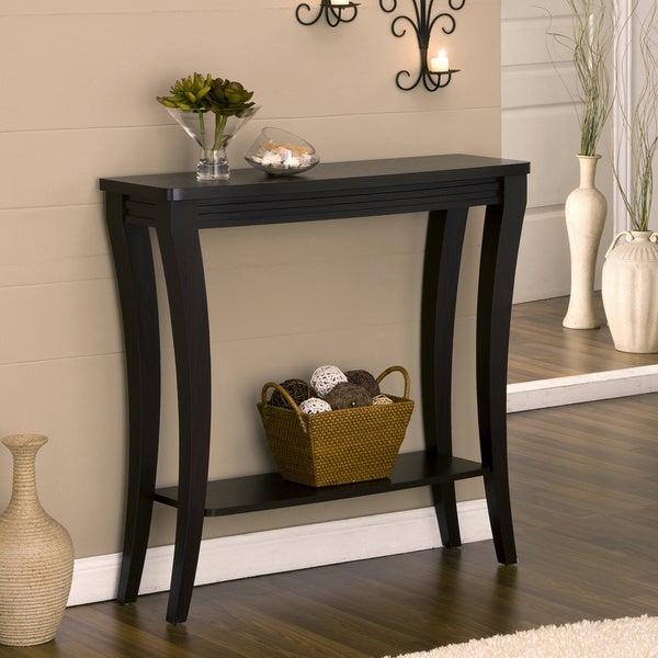 Furniture of america anjelle contemporary open shelf for Furniture of america sofa table