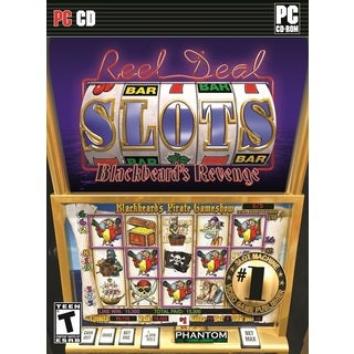 REEL DEAL Casino Gaming Slots: Blackbeard's Revenge PC DVD