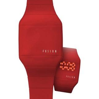 Dakota Fusion 'Red Hidden Touch' Digital LED Watch